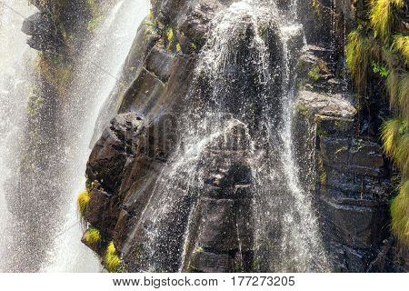 Detail of the Lisbon Falls, Blyde River Canyon, Mpumalanga, South Africa