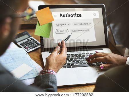 Authorize Computer Network Data Center Information