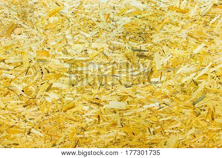 The abstract chipboard or OSB texture as background
