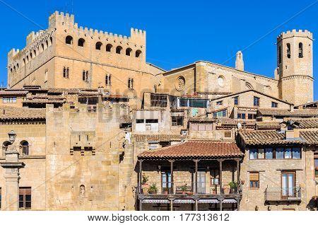 Medieval Village In Valderrobres, Spain