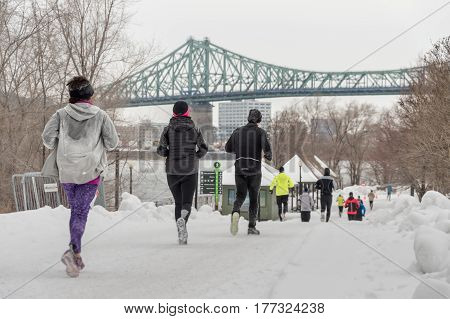 Montreal Hypothermic Half Marathon
