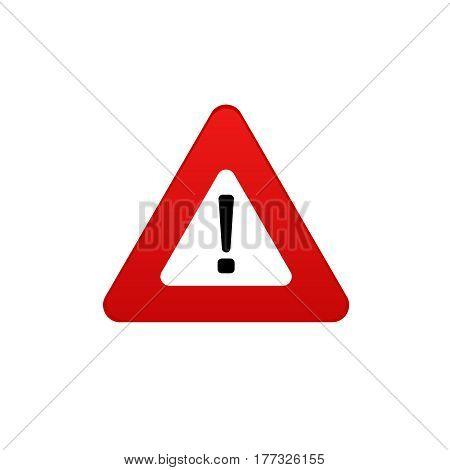 danger  icon . Danger sign vector symbol. Stop sign