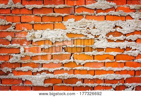 old red bricks background industrial texture image
