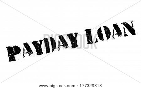 Payday Loan rubber stamp. Grunge design with dust scratches. Effects can be easily removed for a clean, crisp look. Color is easily changed.