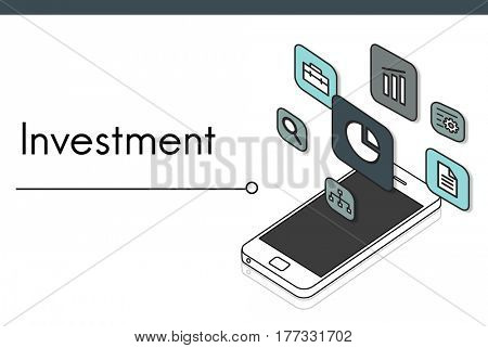 Development Investment Market Expansion Icon