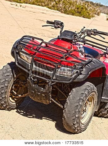 All Terrain Vehicle in a Grungy Look