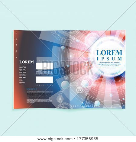 Modern Book Cover Template Design
