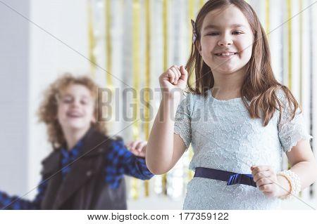 Little Party Girl Dancing
