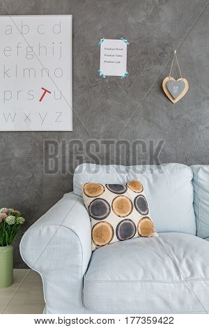 Cosy Room With Letters