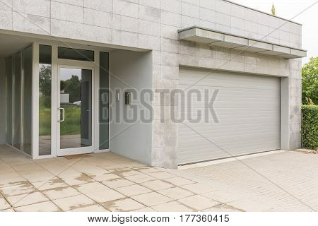 House With Grey Walls