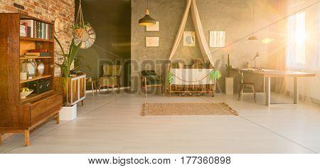 Spacious Room Interior