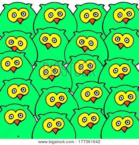 vector nature illustration bird art design graphic animal style