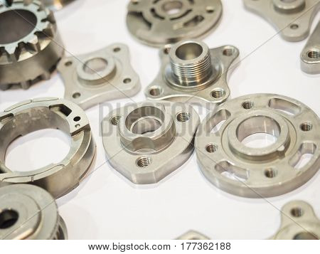High Precision Aluminium Part Manufacturing By Casting And Machining