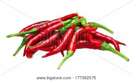 Pile Of De Arbol Chilies, Paths