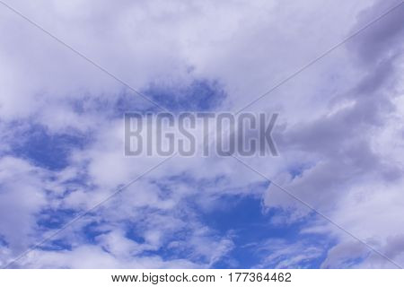 Cloud with blue sky , nature background