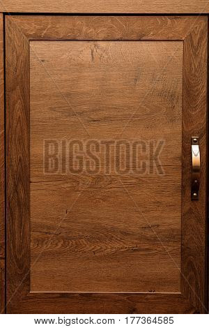 Detail Of High Quality Oak Wood Cabinets With Bronze Cabinet Hardware Drawer Pulls