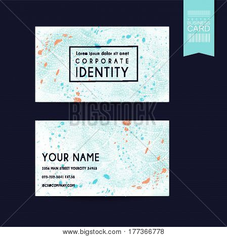 Fantastic Business Card Design Template