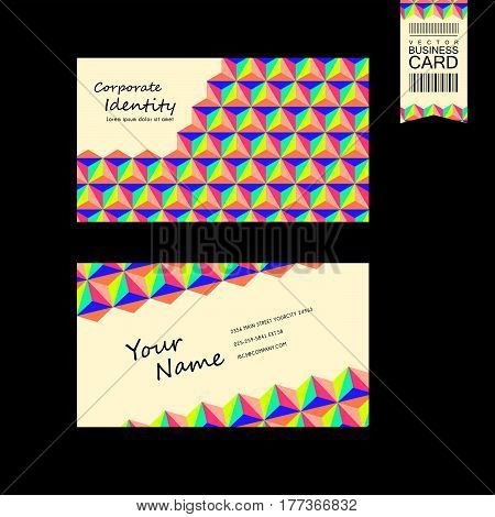 Lovely Business Card Design Template