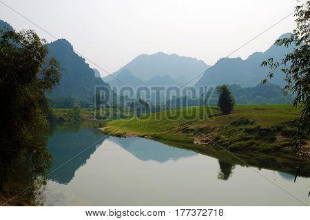 Beautiful Countryside Of Quang Binh, Vietnam