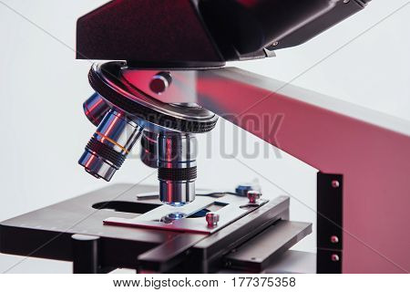 Laboratory, Microscope For Chemistry Biology Test Samples, Medical Equipment, Scientific And Healthc