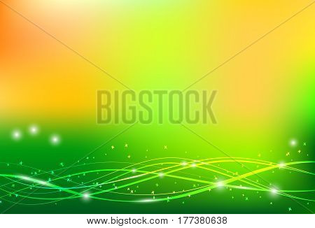 Abstract vector summer background. Banner eps 10