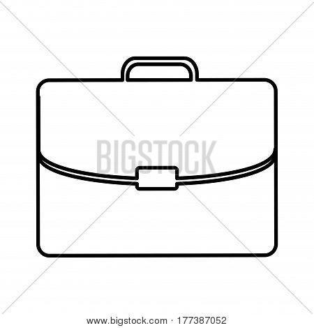 business suitcase icon image, vector illustration design