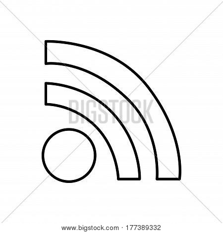 wifi connection router icon, vector illustration design