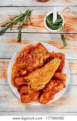 Delicious Crispy Pan Fried Beer Battered Fish Fillets