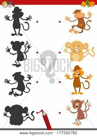 Shadow Game With Monkeys