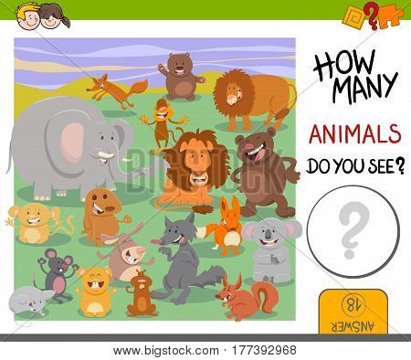 How Many Animals Game