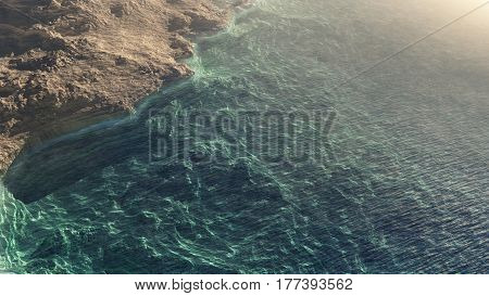 Sea Cave With Ocean View