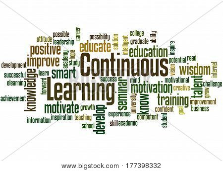 Continuous Learning, Word Cloud Concept 7