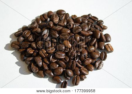 bunch of coffee beans on the table