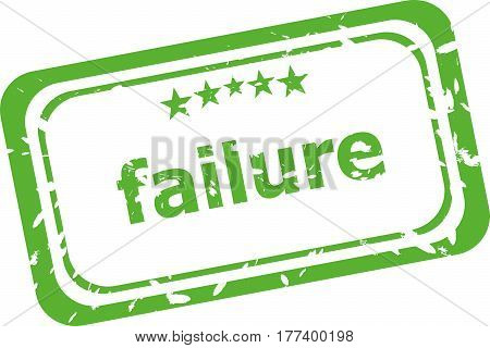 Failure Grunge Stamp Text Isolated On White Background