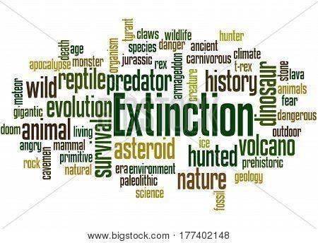 Extinction, Word Cloud Concept 5