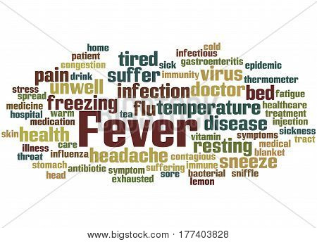 Fever, Word Cloud Concept 8