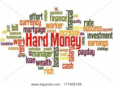 Hard Money, Word Cloud Concept 7