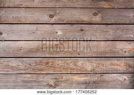Natural Old Wooden Panel Board Background Texture.