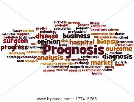 Prognosis, Word Cloud Concept 5