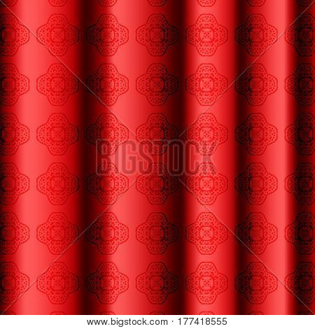 Silk curtains. A curtain. Show. Abstract. For your design