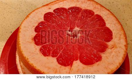 Juicy Red Grapefruit