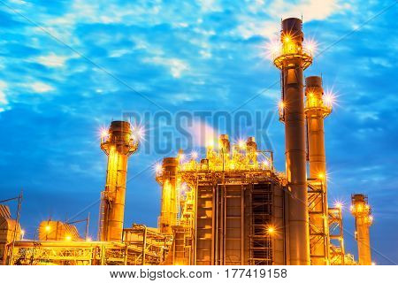 Oil refinery industry,Big Industrial oil tanks in a refinery with treatment pond at industrial plants
