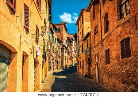 Siena City, Tuscany Region, Italy