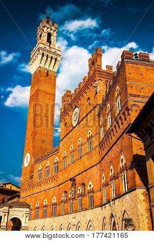 Siena. Tuscany Region Of Italy