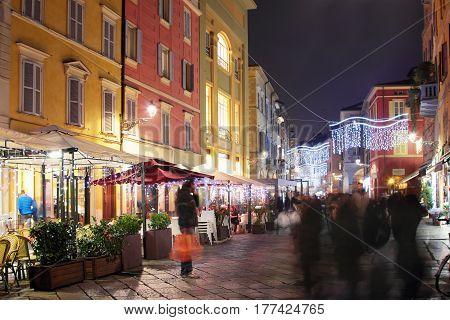 Parma Town, Emilia Romagna Province, Italy.