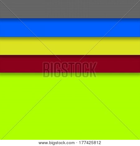 Creative colorful background with tabs. Bright and multicolor