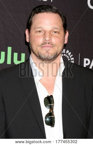 LOS ANGELES - MAR 19:  Justin Chambers at the 34th Annual PaleyFest Los Angeles -