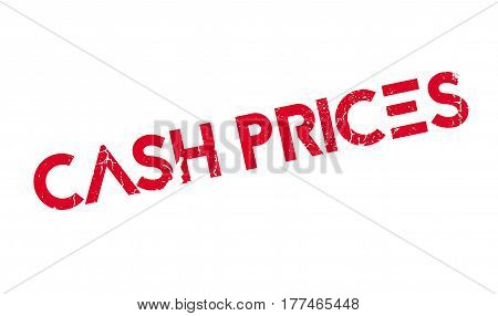Cash Prices rubber stamp. Grunge design with dust scratches. Effects can be easily removed for a clean, crisp look. Color is easily changed.