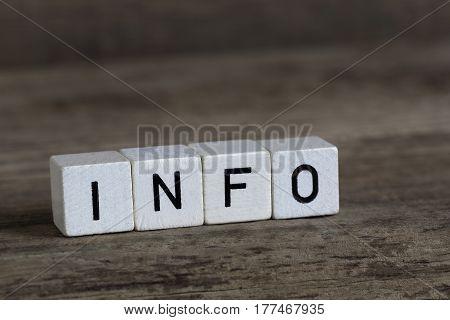 Info, Written In Cubes