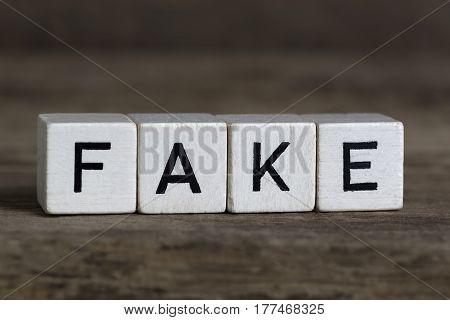 Fake, Written In Cubes